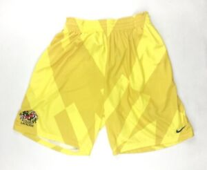 Nike Baltimore Crabs Lacrosse Club Motion Game Short Men's Large Yellow 821979
