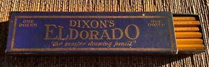 Vintage Dixon ELDORADO  12  Pencils  NEVER OPENED