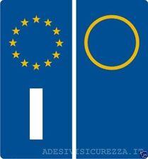 Adesivi vinile targa sigla anno auto etichette europa catarifrangenti profession