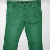 Tommy Hilfiger Storm Chino VT W33 L34 grün Herren Jeans Hose Denim Designer Mode