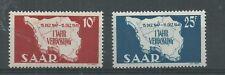 SAAR 1948 SET PRISTINE MNH**