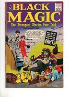 Black Magic Vol.8 #3 NICE VF- 7.5 WHITE PAGES! JOE SIMON COVER ART! 2 POWELL ART