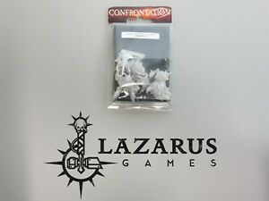 Rackham Miniatures: Confrontation - Thermo-Priest on Razorback (NiB, oop metal)