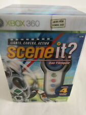 Xbox 360 Game - Scene It? the Filmquiz Incl. 4 Wireless Controller