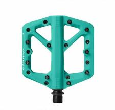 Crank Brothers Stamp 1 Mountain Bike Pedals - TURQUOISE Large - NEW