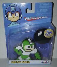 "MEGA MAN HYPER BOMB 8-Bit 2.5"" Figure JAKKS PACIFIC 30th Anniversary Megaman"