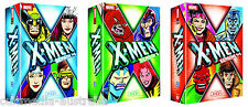 X-MEN (1992) COMPLETE ANIMATED SEASON 1 2 3 4 5 NEW 12 DVD DIGITALLY RESTORED
