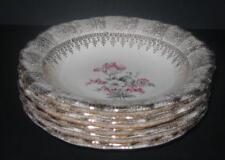 7 Washington Colonial SOUP BOWLS Vogue 22k gold dinnerware China lot