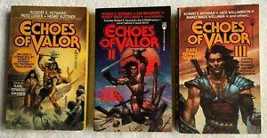 Echoes of Valor I, II, & III - Karl Edward Wagner