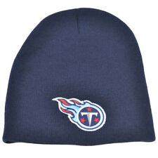 More details for tennessee titans beanie hat, navy blue