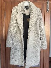 BNWT Scotch & Soda Women's Woollen Coat, Size 1/UK 8-10