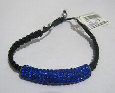 Wonderful Friendship style bracelet adjustable size electric blue decoration