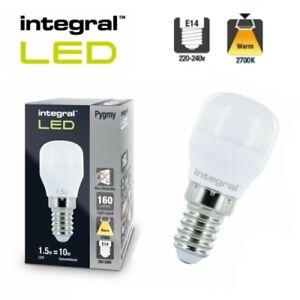 Integral LED 1.8 Watt PYGMY mini Light Bulb fridge freezer Appliance SES E14