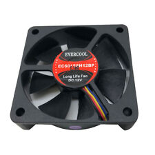 Evercool 60mm 6cm 60 x 15mm PWM 12 Volt PC case Fan EC6015SH12BP