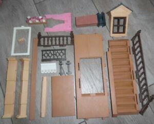 Playmobil Puppenhaus 5300 | 5305 verschiedene Ersatzteile | Zubehör | Rosa Serie