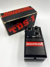 Tokai TDS-1 Distortion Black '80s MIJ Vintage Guitar Effects Pedal Made in Japan