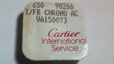 Cartier watch parts Tank Francaise - Set for Push button VA 150073 - White - NEW
