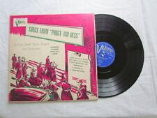 "Varsity Light Opera Singers, Songs from Porgy and Bess, Varsity 10"" 33rpm"