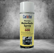 Carlofon Thermo Motorlack Spray schwarz Motor Lack 400ml  Art.Nr. 805