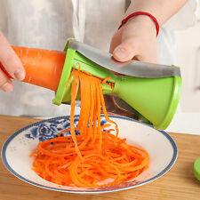 Spiralschneider Gemüseschäler Schäler Spezialmesser Gemüsestreifen Cutter Slicer