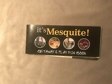 Mesquite Nevada Vintage Fun Book Virgin River Casa Blanca & Oasis Casinos 2007