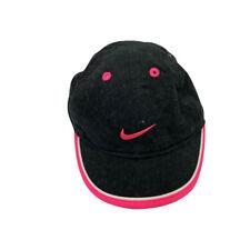 Nike Black/Pink Infant baseball style hat adjustable