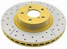 DBA DBA2049X 4x4 Survival Cross-Drilled Slotted Disc Brake Rotor Hummer H2 REAR
