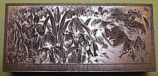 """""""Art Nouveau Dama bloque de impresión""""."""