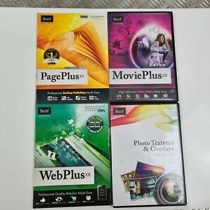 Serif Software Suite PagePlusX6 MoviePlusX6 WebPlusX6 Photo Textures & Overlays