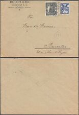 Czechoslovakia 1920 - Cover to Brussels Belgium D59