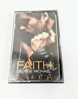George Michael - Faith - 1987 Dance Pop Cassette Tape (Rare OOP)