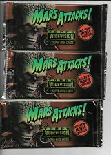 1996 Topps Mars Attacks! Widevision Trading Cards Unopened Packs  LOT (3)