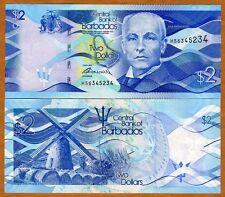 Barbados, $2, 2013, Pick 73, UNC > New Design