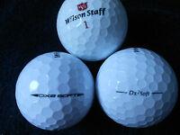 "20 WILSON STAFF - ""DX2 SOFT"" - PRE 2018 MODELS - Golf Balls - ""PEARL/A""  Grades."