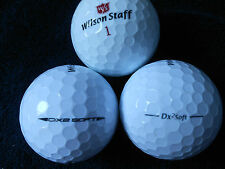 "40 WILSON STAFF - ""DX2 SOFT"" -  Golf Balls - ""PEARL/A""  Grades."