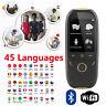 "Boeleo K1 2.0"" Smart Language Translator Voice 45 Languages BT Translation M6Y6"