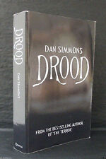 DROOD Dan Simmons UK UNCORRECTED PROOF / ARC QUERCUS Very Rare