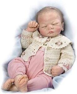 Ashton Drake Baby Reborn - ALL DOLLED UP EMILY - RETIRED - Linda Webb - NEW