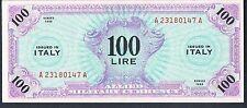 ITALIA BANCONOTA 100 P15a 1943 Gau