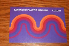 Fantastic Plastic Machine Luxury Sticker Postcard Promo 6x4
