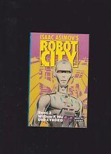 isaac asimov  - Robot City Band 3 william  F . whu  der Cyborgb