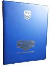 2015 NRL Elite Album / Folder with Complete Full 161-Card Base Common Set
