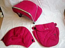 Silver Cross Wayfarer Pioneer Pink Hood & Apron Colour Pack