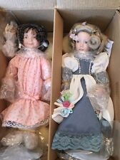 The Ashton -drake Porcelain Dolls New Sugar And Spice And Cinderella At The Ball