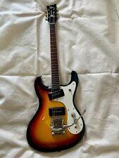 Used! MOSRITE The Ventures Model Guitar 3-Tone Sunburst