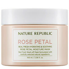 Nature Republic Real Fresh Rose Petal Moisture Mask 100ml