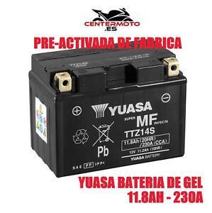 Batería Yuasa TTZ14S Wet Charged (cargada y activada)