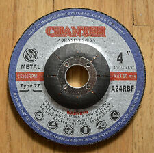 """10pcs Industrial 4"""" x 1/4"""" x 7/8"""" Metal Grinding Wheel Angle Grinder Disc / T27"""