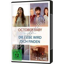 DVD - Zwei Filme , Ein Preis: OCTOBER BABY / DIE LIEBE WIRD DICH FINDEN     °CM°