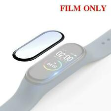 For Xiaomi Mi Band 5 Full Coverage Soft Fiber Glass Protector UK Cover B7U2